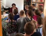mjesec hrvatske knjige 2018. godine (posjet prvašića)