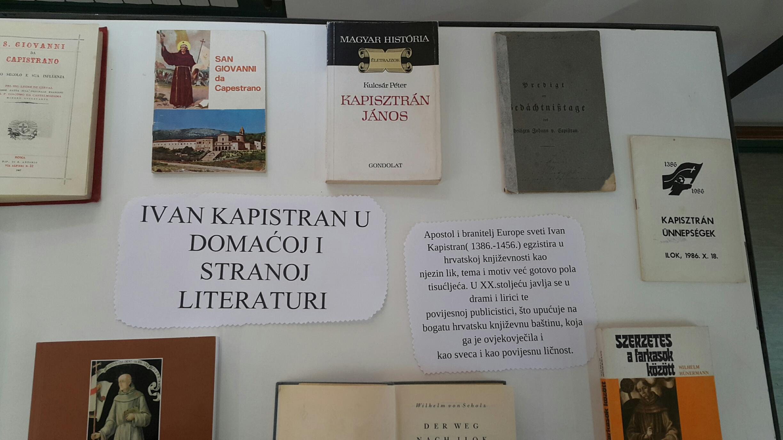 Prigodna izložba knjiga iz privatne zbirke M. Batorovića