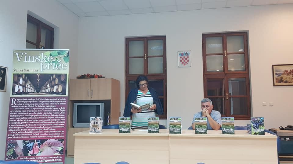 Predstavljanje knjige Slavonija i Hrvatsko Podunavlje - vinske priče, autora Željka Garmaz